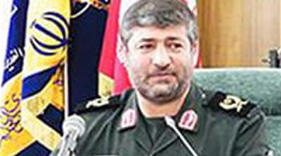 General Allahdadi died when he and other fighters were attacked by 'Zionist regime helicopters' [AFP]