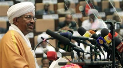 Opposition parties accuse Bashir of failing to follow through with promises of political reform [AFP]