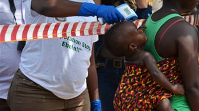 Ebola infections in West Africa going down