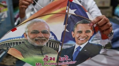 It will be the second time Obama has visited India during his presidency [Reuters]