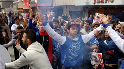 Egyptian student killed ahead of uprising anniversary