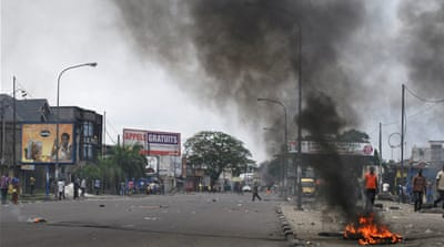Demonstrations were held in towns and cities across the DRC, including the eastern cities Bukavu and Goma [EPA]