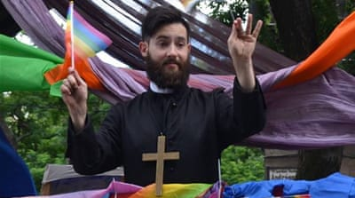Hungarian gay rights activist's fight with fascism