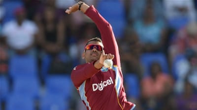 Narine pulls out of West Indies' World Cup squad