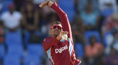 Narine was ranked number two in ODI bowlers rankings when he was suspended in September [Getty Images]