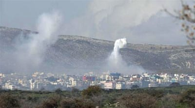 Israelis fired shells across the border into southern Lebanon after the attack [Reuters]