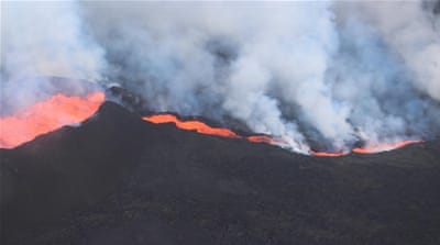 Iceland's volcanic eruption stokes toxic gas fears