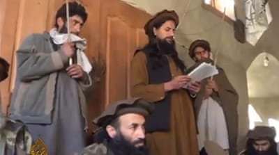 Inside a Taliban court in Afghanistan