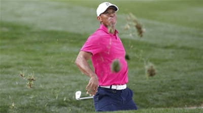 Woods finished eight shots off the pace [Arizona Republic-Usa Today Sport]