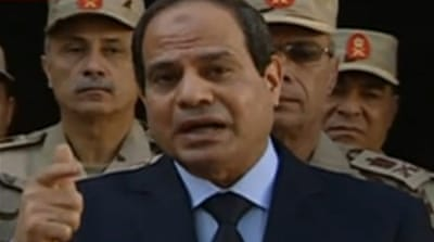 Sisi insisted Egypt will never leave Sinai, insisting it belonged to the country