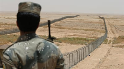 Saudi Arabia sent 30,000 soldiers to secure its border with Iraq in July last year amid growing unrest [Reuters]