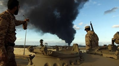 Libyan armed groups have been locked in conflict since the ousting of Muammar Gaddafi in 2011 [Reuters]
