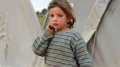 Syria storm displaces the displaced