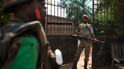 Some 5,600 African Union peacekeepers, deployed in December 2013, have struggled to stem the violence [AFP]