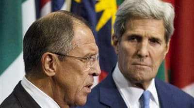 US and Syria opposition question Russia intentions
