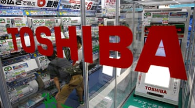 Key questions in Toshiba scandal still unanswered