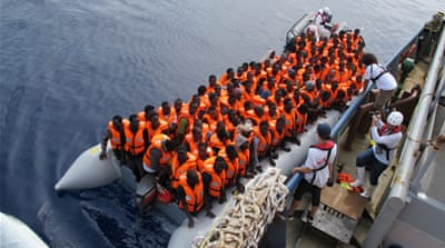 Desperate journeys: Rescued Mediterranean Sea survivors