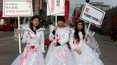 China's feminists defy government oppression