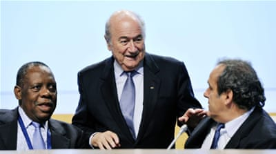 Prince Ali was the only candidate opposing Blatter in the elections earlier this year [Getty Images]
