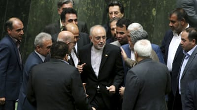 The deal calls for limiting Iran's nuclear programme in exchange for lifting economic sanctions [AP]