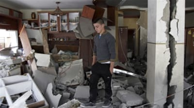 Because Palestinian homes are often wedged into tight refugee camps, where buildings share walls and foundations, Israel's demolition orders affect several families at once [AP]