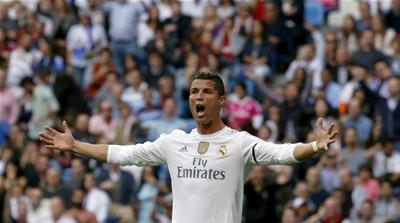 Ronaldo breaks Raul's record in Real Madrid's win