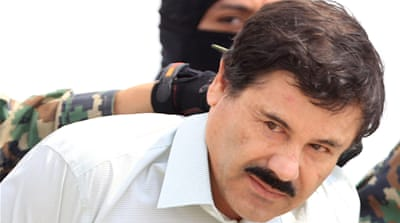 Drug lord Joaquin 'El Chapo' Guzman is Mexico's most-wanted fugitive [Mario Guzman/EPA]