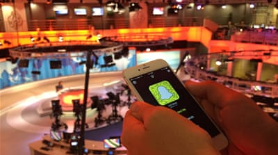 The channel says it hopes the app will allow it to 'deliver news in a more engaging format' [Al Jazeera]