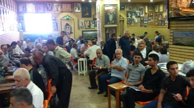 The Chaikhana Shaab was established in the northern Iraqi city of Sulaimania in 1950 [Lara Fatah/Al Jazeera]