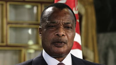 Congo will hold a referendum on Sunday that will determine whether President Nguesso can seek a third term in office [Reuters]