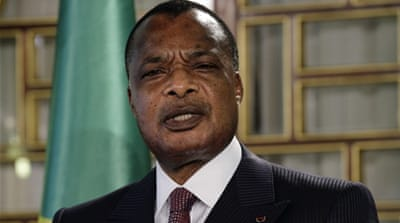 Congo will hold a referendum on Sunday that will determine whether President Nguesso can seek a third term in office [AP Photo/John Bompengo]