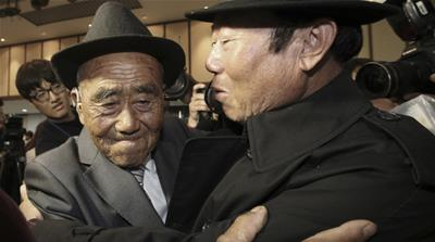 Reunion of families is a glimmer of hope in Korea