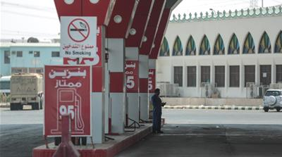 The fall in oil prices has led to the Middle East facing export revenue losses amounting to $360bn this year alone [Mosaab Elshamy/AP]