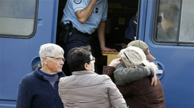 The bus crash is France's worst road accident since 1982 [Regis Duvignau/Reuters]