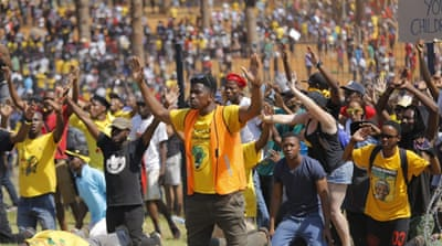 S Africa halts university fee hikes after mass protests