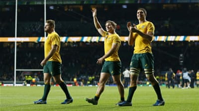 Australia and New Zealand have never met in a Rugby World Cup final [Reuters]