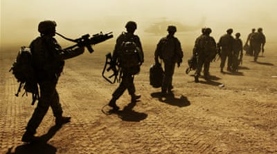 NATO already has about 13,450 troops in Afghanistan, including 6,900 US and 500 British personnel [File: Omar Sobhani/Reuters]