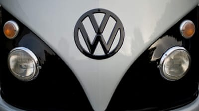 VW suffers $3.9bn quarterly loss over emissions scandal