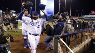 Royals double World Series lead over Mets
