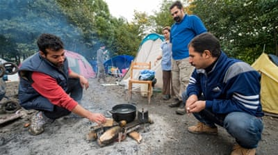 French charity decries 'Jungle' refugee camp conditions
