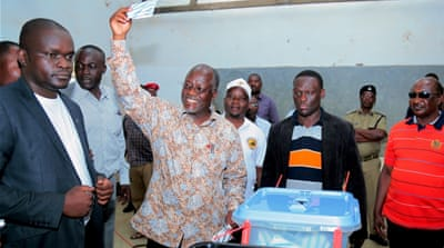 Tanzania ruling party candidate wins presidential vote