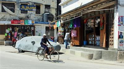 Shops in Zanzibar's city centre have reopened after a three-day shutdown [Tendai Marima/Al Jazeera]