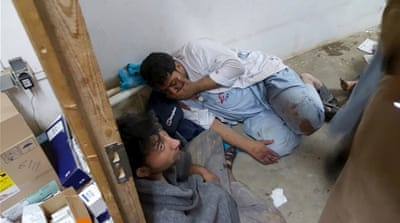 The air raid came days after Taliban fighters seized control of the strategic northern city of Kunduz [MSF handout]