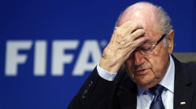 According to his lawyer, the 79-year-old Swiss has rejected the call from major sponsors to resign [File: Reuters]