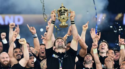 Ruthless New Zealand retain Rugby World Cup