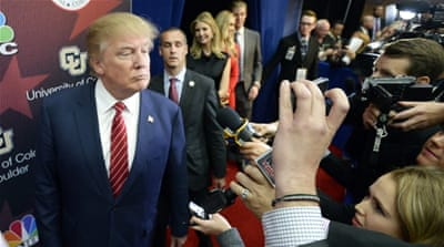 Donald Trump: Politics as media spectacle
