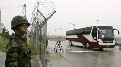 The repatriation of Joo was to take place at Panmunjom on the inter-Korean border [AP]