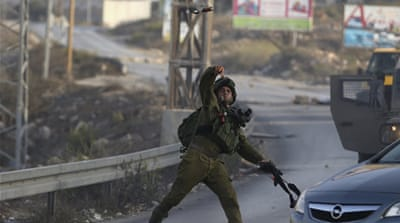 Hundreds of Palestinians have been injured in clashes with Israeli forces in the West Bank [Reuters]