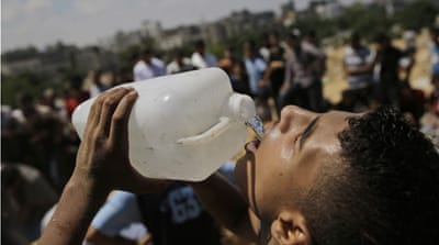 The cost of overhauling Gaza's water system to better deal with demand is estimated to be at $1bn [Getty]