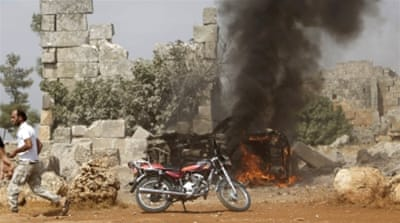 The opposition says air strikes have mainly targeted anti-Assad forces, not ISIL, and also killed civilians [Reuters]